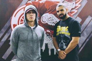 Eminem joins Drake at Joe Louis Arena concert