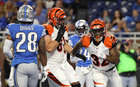 Hill's early TD helps Bengals beat Lions