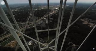 360º View: Climb to top of WXYZ's antenna tower