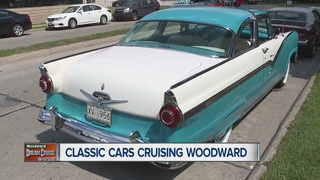 Cruisers take to Woodward in Dream Cruise