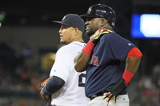 Ortiz, Porcello lead Red Sox to rout of Tigers