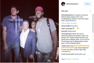 Drummond, Marjanovic make Stallone look small