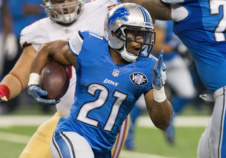 Lions RB Abdullah tears ligament in foot, report