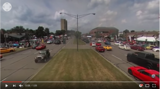 360º View: Cars at the Woodward Dream Cruise