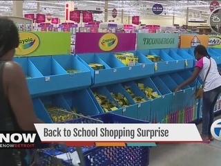 Back-to-school surprise helps with supplies!