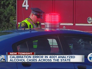 Error affects thousands of DUI tests