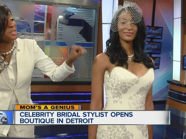 Mom's a Genius: Detroit's first bridal boutique opened by ...