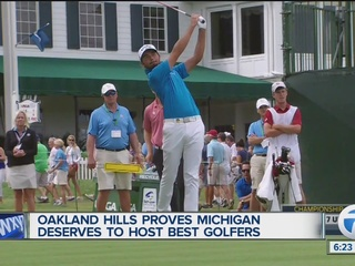 Oakland Hills proves worthy to host major