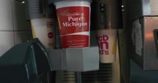 Snag Michigan-themed Coke cups at McDonald's