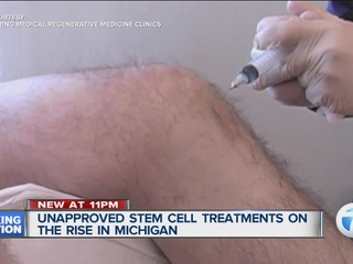 Unapproved stem cell treatments on the rise