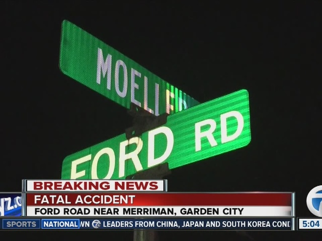1 killed in Garden City car accident near Ford Road