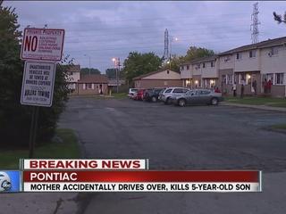Mom accidentally runs over, kills 5-year-old son