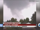 Tornado touches down in Windsor area