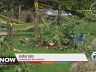 Residents clean up after tornado in Windsor area