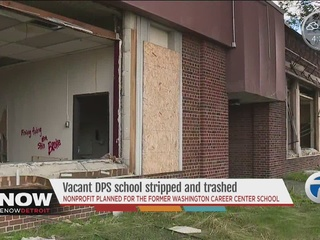 Woman's dream to renovate vacant school stalled