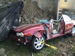 Man speaks out after serious gravel hauler crash