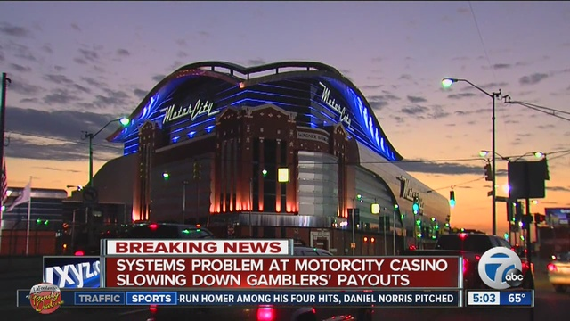 System Problem At Motorcity Casino In Detroit Slows Down