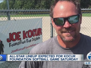 Kocur packs All-Star lineup for charity softball