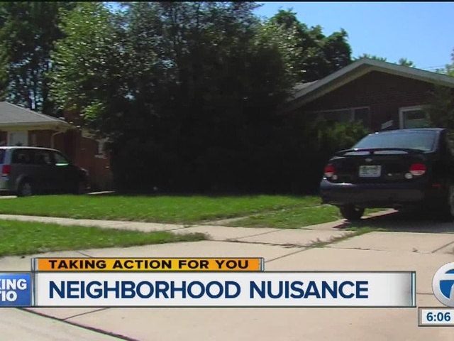 Neighborhood nuisance in Madison Heights