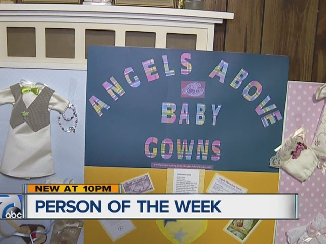 Person of the Week: Dawn Lafferty, founder of Angels Above Baby Gowns