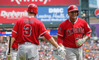 Former Tiger Marte drives in three in Angels win