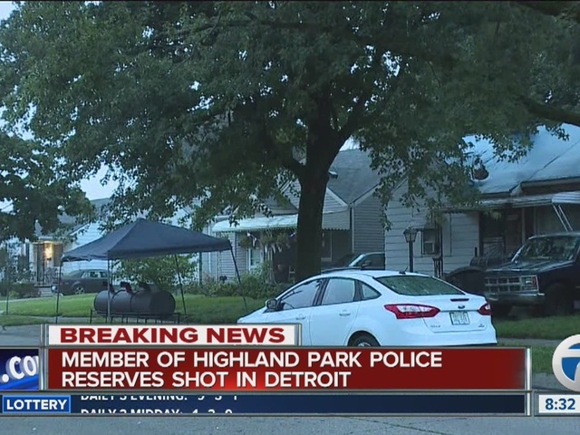Off-duty Highland Park reservist shot in Detroit