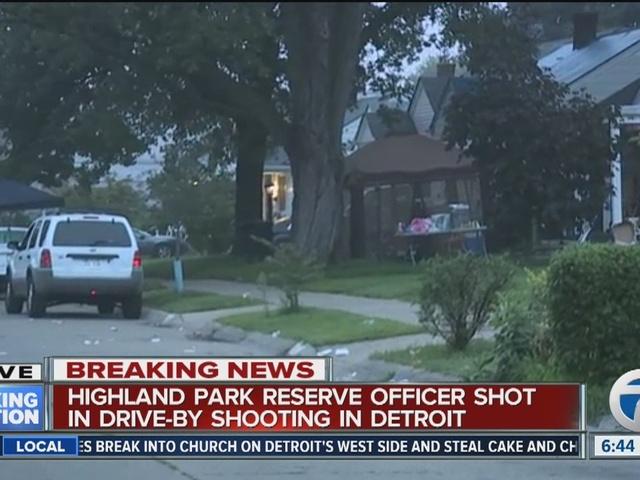 Off-duty Highland Park reservist shot in Detroit