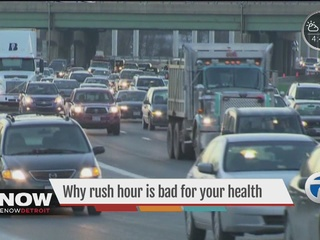 How sitting in traffic jams can harm your health