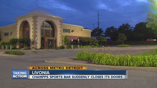 Livonia Champp's shuts down without notice