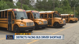 Districts searching for school bus drivers