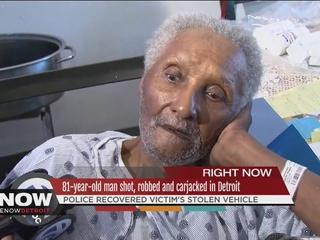 81 y.o. veteran shot during Detroit carjacking