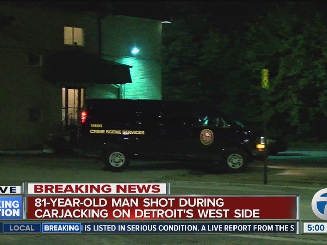 81-year-old man shot during Detroit carjacking