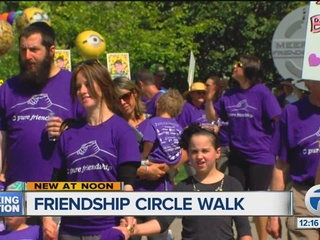 Walking to help kids with special needs