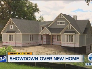 New house won't be torn down after settlement