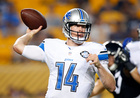 Rudock will replace Orlovsky as Lions backup QB