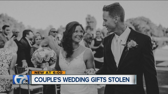 Wedding Gift Check Bounced : ... to help newlyweds after their car is broken into on their wedding day