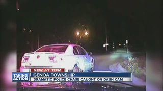 VIDEO: MSP troopers cuts high speed chase short