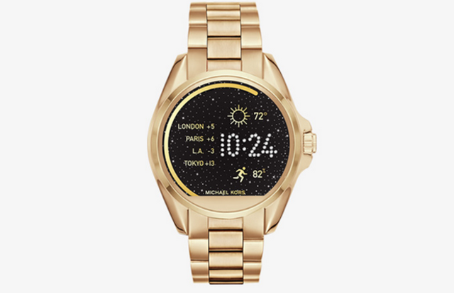 glamorous tech michael kors introduces smartwatch. Black Bedroom Furniture Sets. Home Design Ideas
