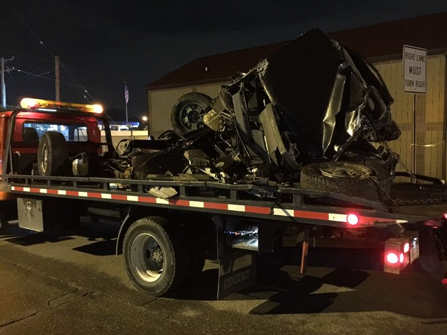 Two dead after Amtrak train hits vehicle in Michigan