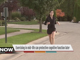 Midlife exercise may help brain in old age