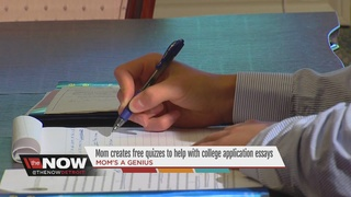 Application essay writing quiz