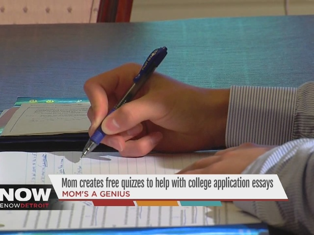 Essay Examples High School She Runs A Company Called Essay Coaching  Where She Meets Oneonone With  Students Helping Them Learn How To Craft A Great College Application  Bullying Essay Thesis also Narrative Essay Example High School Ann Arbor Mom Creates Free Quizzes To Help Students With College  The Benefits Of Learning English Essay