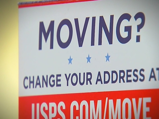 A Post Office Change Of Address Form