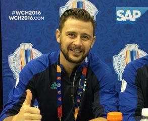 Red Wings busy at World Cup of Hockey media day