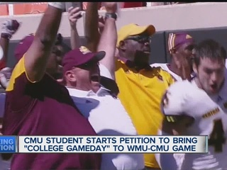 Campaign launched to bring 'GameDay' to CMU