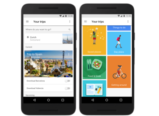 Google's new app acts as a trusty travel guide