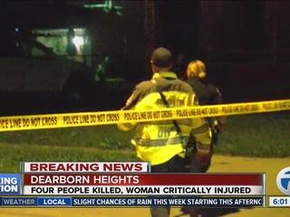 Man kills 2 teens, 2 children in Michigan