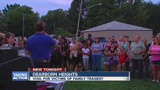 Vigil held to honor murdered children