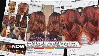 Pumpkin Spice is the new hair color hot trend