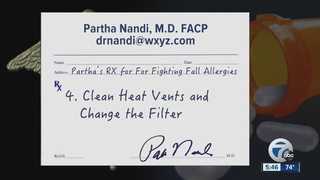 Ask Dr. Nandi: Tips for fighting fall allergies